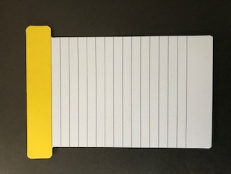 Plain T-card in yellow_28mar2018
