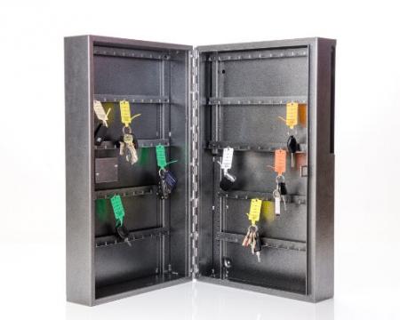 Armoire à clés de sécurité Mid Range 100 Plus - serrure à combinaison mécanique avec surcourse à clé
