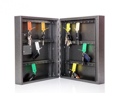 Armoire à clés de sécurité Mini 60 Plus - serrure à combinaison mécanique avec surcourse de clé